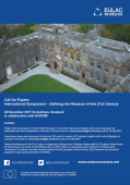 Call for Papers: International Symposium Defining the Museum of the 21st Century.