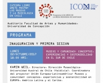 Disseminating the project: Chilean collaboration and participation on an ICOM's lecture series