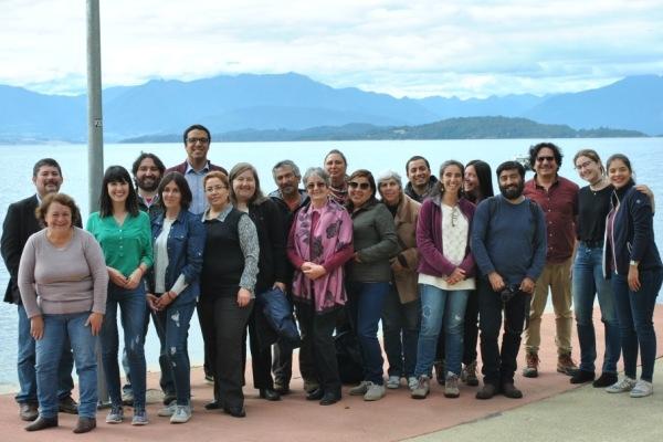 Presentación de avances y validación de productos en la última reunión de la Red de Museos en Lago Ranco