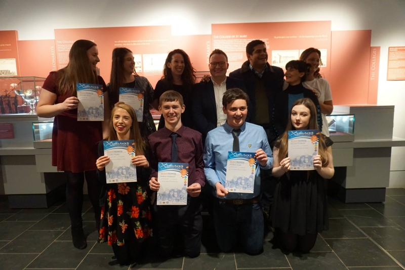 Scottish young people presented with national award