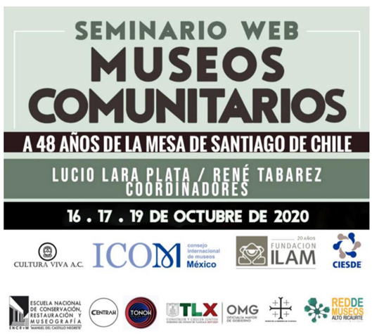 """Proyecto Eulac Museums fue destacado en el seminario latinoamericano """"Museos Comunitarios, a 48 años de la Mesa Redonda de Santiago de Chile"""""""
