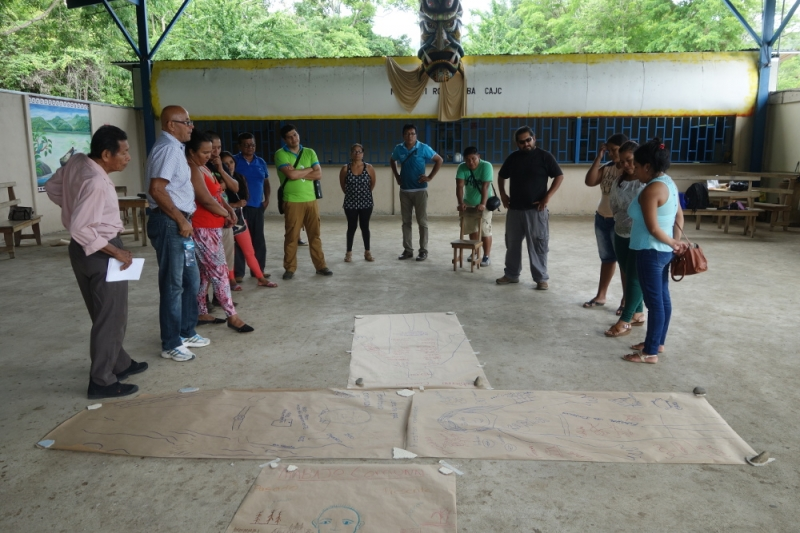 """Second Facilitator's Workshop: """"Our Vision of Change."""" Rey Curré, Costa Rica"""
