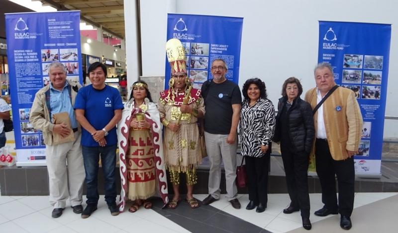 Difundiendo la labor del equipo peruano de EULAC Museos y Comunidades: Feria Intercultural EULAC MUSEUMS