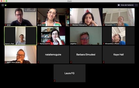 Reading Group: Discussion of Deliverables from Final Reporting Period Grupo de lectura: Debate de Entregables del período final de presentación de informes