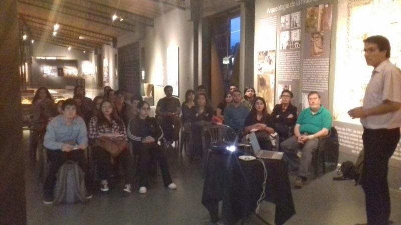 """Charla """"Museos, comunidades y redes de colaboración e investigación en la región de los Ríos, sur de Chile"""" en Mendoza, Argentina."""