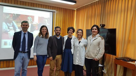 Defensa de Tesis de la alumna Javiera Errázurriz, del Programa de Magíster en Desarrollo Rural de la UACh y el Proyecto EU-LAC Museums