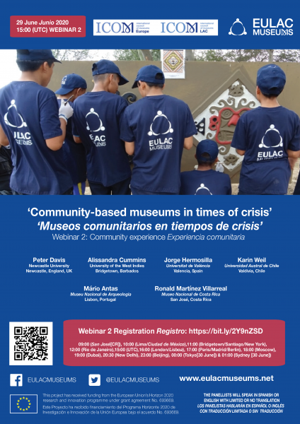 Webinar 2: 'Community-based museums in times of crisis: community experience'