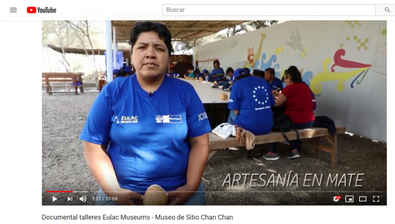 Documental talleres EULAC Museums - Museo de Sitio Chan Chan Workshops documentary EULAC Museums - Chan Chan Site Museum
