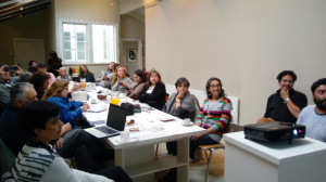 Meeting with the Network of Museums and cultural centers of the region of the Rivers to present and validate the methodology of characterization.