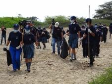 Preservación del Patrimonio Histórico y Educación Ambiental con una campaña de limpieza de la zona adyacente al sitio arqueológico  museo Huacas de Moche y alrededores