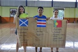 Intercambio internacional de jóvenes. Escocia/Portugal – Costa Rica. 25 julio – 8 agosto 2017
