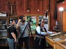 Rodaje de vídeos en los museos de la región de los Ríos
