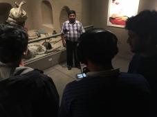 Taller de capacitación sobre medios audiovisuales en el Museo Nacional  Sicán