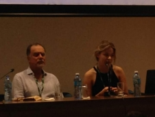 """EU-LAC-MUSEUMS presentations during the conference """"The Poetics and Politics of Museology""""."""