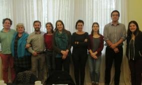 Equipo chileno se reúne en Valdivia con Presidenta de ICOM Chile