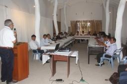TALLER CON TENIENTES GOBERNADORES DE TÚCUME WORKSHOP WITH TÚCUME DEPUTY MAYORS